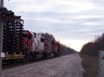Truck frames, Crossing protection and a SOO SD60